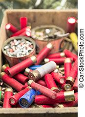 古い, 材料, へ, reload, 弾薬