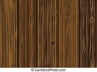 古い, 板, 木製である, -, 手ざわり, ベクトル