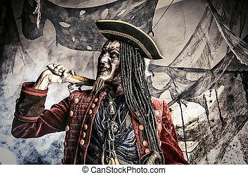 古い, 海賊, 死んだ