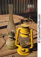 古い, 灯油ランプ