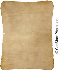 古い, 羊皮紙, ペーパー