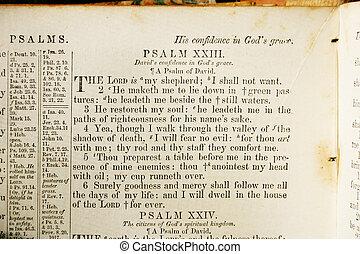 古い, 聖書, 賛美歌, 23
