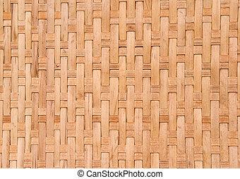 古い, 背景, 手ざわり, 竹
