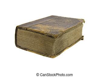 古い, 背景, 非常に, 聖書, 白