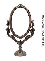 ∥, 古い, 華やか, 鏡
