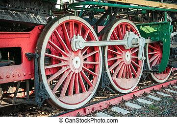 古い, 蒸気機関車
