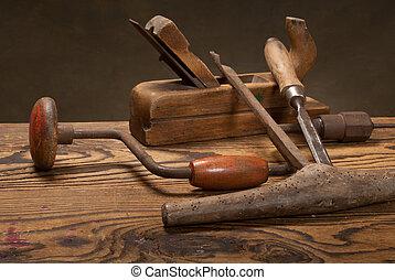 古い, 道具