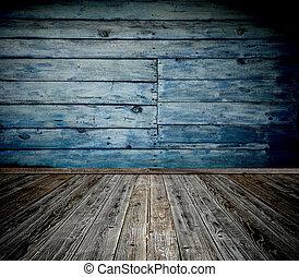 古い, 部屋, 木製である
