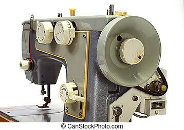 古い, 隔離された, 機械, 電気である, 裁縫, 白
