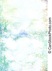 古い, 青, canvas:, 抽象的, 黄色, パターン, 背景, textured, 緑