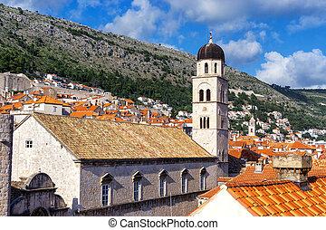 古い, dubrovnik, 都市, croatia