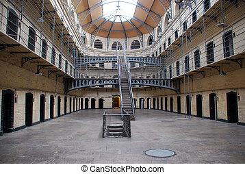 古い, kilmainham, ダブリン, -, 刑務所, 刑務所