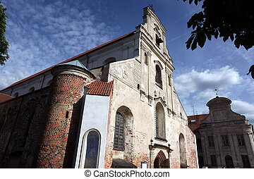 古い, vilnius, 教会