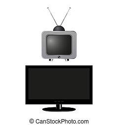 古く と 新しいです, tv