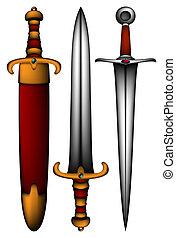 古代武器, セット