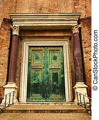 古代, ドア