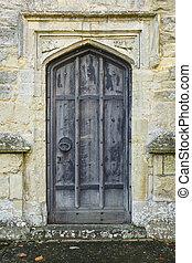古代, ドア, 教会