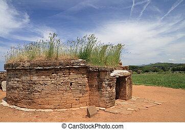 古代, 坟墓