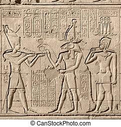 古代, 寺院, chnum, 救助
