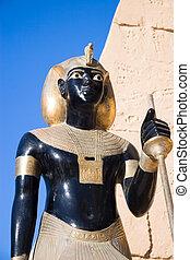 古代, 彫像, エジプト人