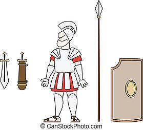 古代, 戦士