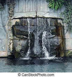 古代, 滝