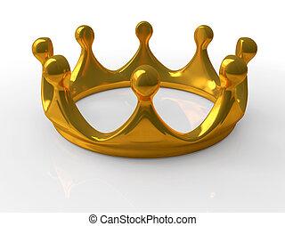 古代, 王冠, 金