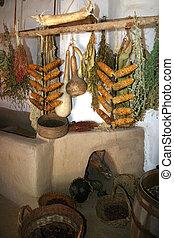 古代, 貯蔵の 棚