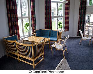 古典的な 様式, 暮らし, 家族 部屋