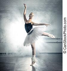 古典的芭蕾舞, 跳舞