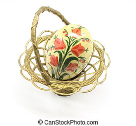 古董, 复活节蛋, 篮子