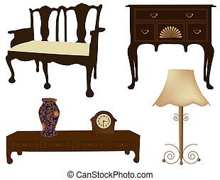 古董, 家具