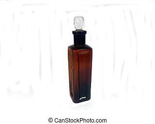 古董, 布朗, 配藥, 瓶子