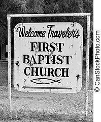 古董, 教堂, 簽署