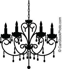 古董, 枝形吊燈