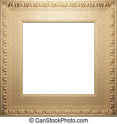 古董, 框架, 木制