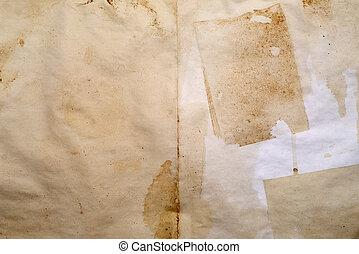 古董, 纸