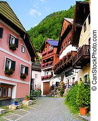 古風で趣がある, austrian, 村