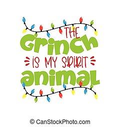 句, grinch, sprit, 動物, クリスマス, 面白い, 私, -
