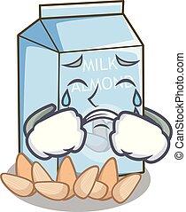 叫ぶこと, アーモンド, ミルクのビン, 漫画