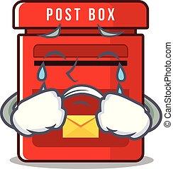 叫ぶこと, メールボックス, ベクトル, マスコット