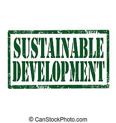 可持續, development-stamp