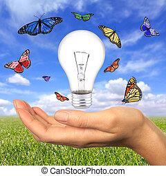 可更新的能量, 是, 在之內, 我們, 伸手可及的距離