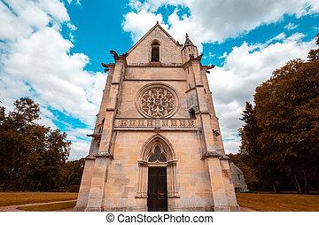 台なし, chaalis, chaalis, フランス, 修道院