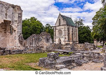 台なし, chaalis, chaalis, 修道院, フランス