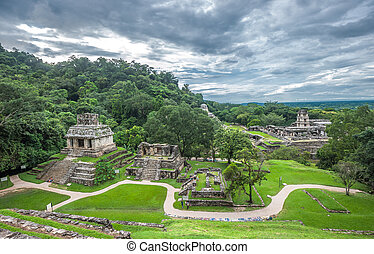 台なし, palenque, メキシコ\