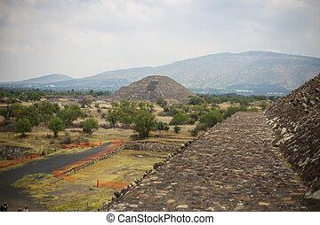 台なし, teotihuacan, 中央である, aztec, メキシコ\