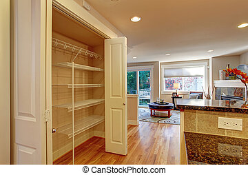 台所, 部屋, ∥で∥, 貯蔵の 棚