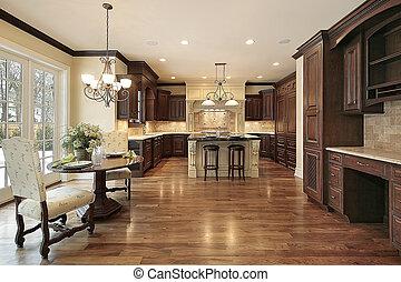 台所, 食べること, 贅沢, 区域