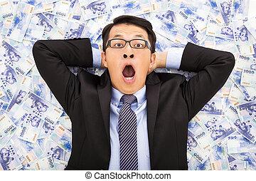 台湾, あること, ドル, 新しい男, ビジネス, 興奮させられた